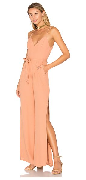 "Lovers + Friends Charisma Jumpsuit in tan - ""You're not like the rest of 'em. The Charisma Jumpsuit..."