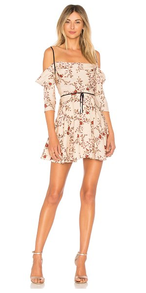 LOVERS + FRIENDS Cindy Mini - The prettiest floral print forms the Cindy Mini by...
