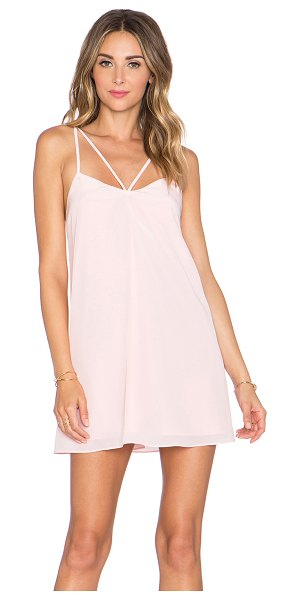 Lovers + Friends X revolve delilah dress in blush - Shell: 100% polyLining: 97% poly 3% elastane. Hand wash...