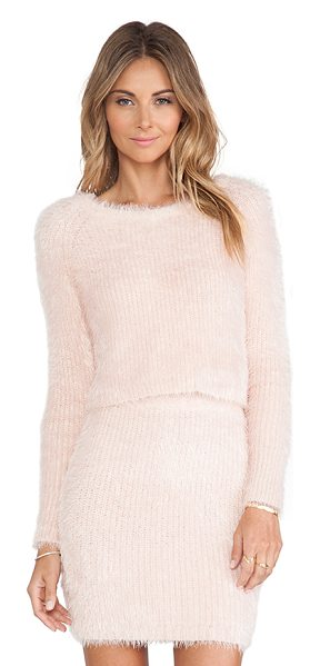 LOVERS + FRIENDS Dolly sweater in pink - 64% nylon 36% acrylic. LOVF-WK30. H14KTC0038. Constantly...