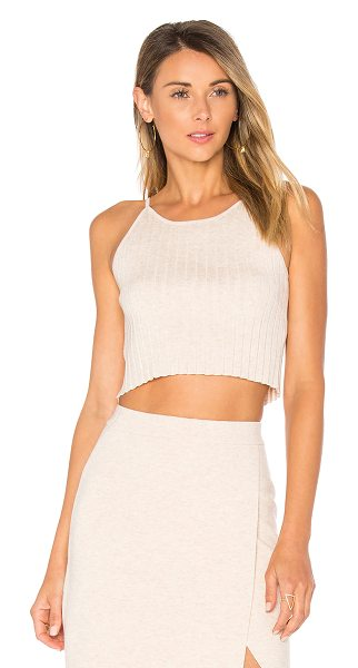 Lovers + Friends Gemma Top in beige - Dare to crop it out? The Gemma Top by Lovers + Friends...