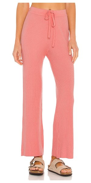 Lovers + Friends inca pant in coral