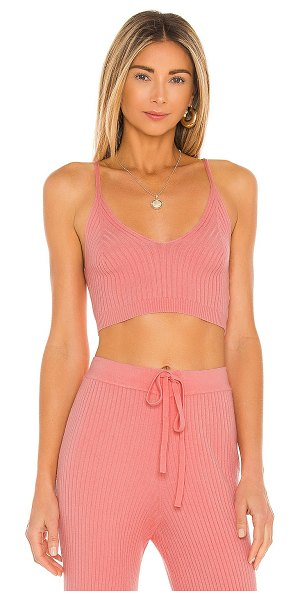 Lovers + Friends inca tank in coral