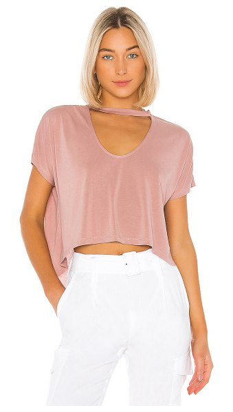 Lovers + Friends ines top in mauve