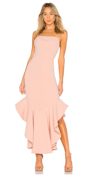 """Lovers + Friends James Gown in blush - """"A sophisticated take on the classic mermaid dress, the..."""