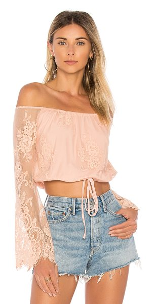 Lovers + Friends Lady Love Top in nude - Falling head over heels for the Lady Love Top. Designed...