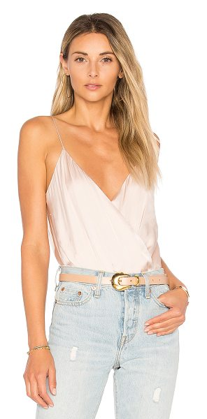 Lovers + Friends Leo Cami Bodysuit in nude - Take the one piece from day to night with Lovers +...