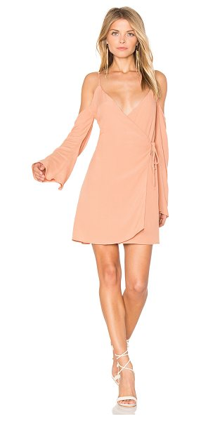 Lovers + Friends Love Letter Dress in tan - Show off your sweeter side. Between the blush hue and...