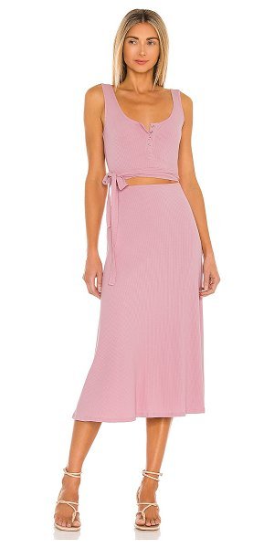 Lovers + Friends malone dress in peony