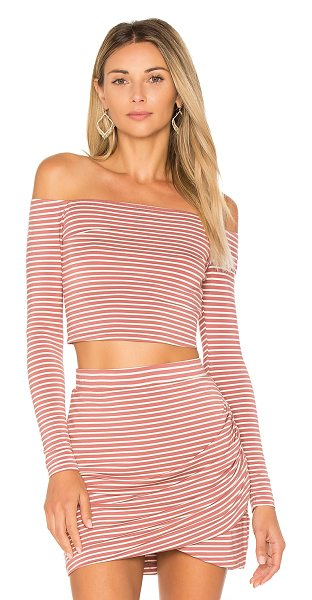 Lovers + Friends Megan Top in rose - Show off a little skin in the Megan Top by Lovers +...