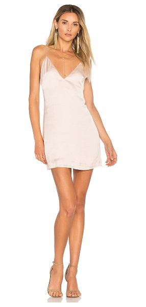 Lovers + Friends Mini Slip Dress in champagne - Simple and sleek. The Mini Slip Dress by Lovers +...