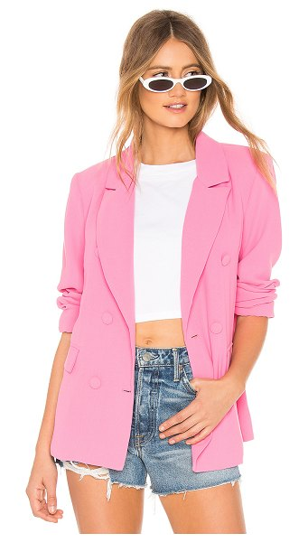 Lovers + Friends Noemi Blazer in pink - Bring the summer fun to every season with the Lovers +...