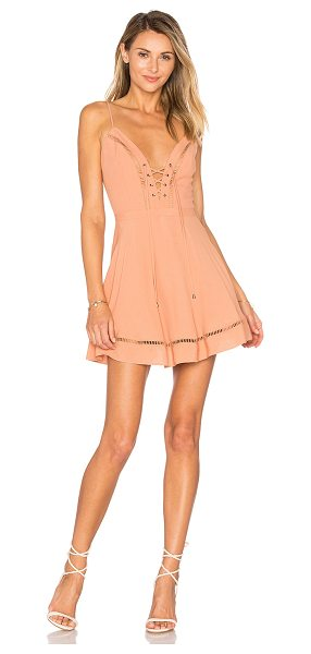 "LOVERS + FRIENDS Sadie Mini - ""Laced up and ready to go. The Sadie Mini Dress by..."