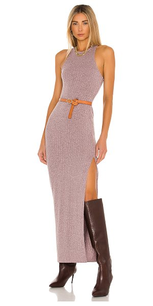 Lovers + Friends savannah dress in heather mauve