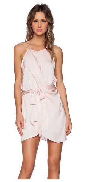 LOVERS + FRIENDS Serenity Dress in blush - Poly blend. Hand wash cold. Fully lined. Pleated...