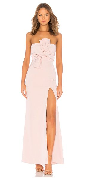 Lovers + Friends sol gown in rose