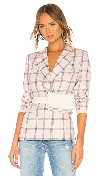 Lovers + Friends Trinity Blazer in pink - Business meets casual with the Trinity Blazer by Lovers...