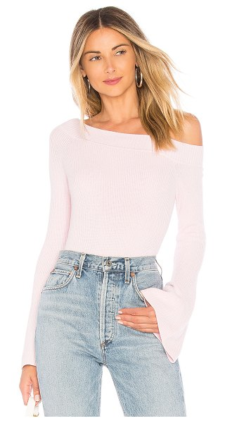 Lovers + Friends westmont pullover in baby pink