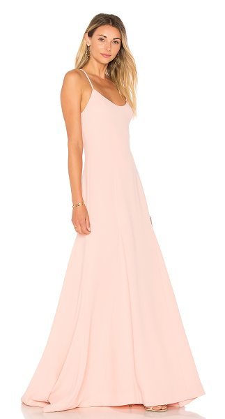 Lovers + Friends Brantford Gown in pink - Gala ready in the Brantford Gown. Delicate shoulder...
