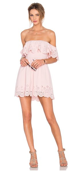 Lovers + Friends x REVOLVE Dream Vacay Dress in pink - 95% poly 5% spandex. Hand wash cold. Fully lined....