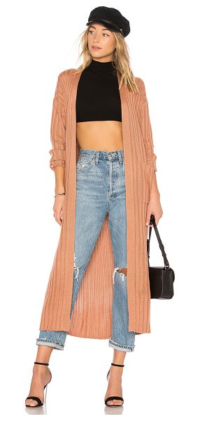 Lovers + Friends x REVOLVE Franklin Duster in rose - The Lovers + Friends x REVOLVE Franklin Duster has a...