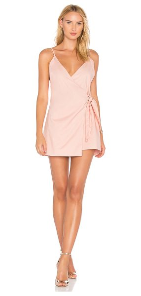 Lovers + Friends Julian Dress in pink - Self: 97% cotton 3% spandexLining: 100% cotton. Dry...
