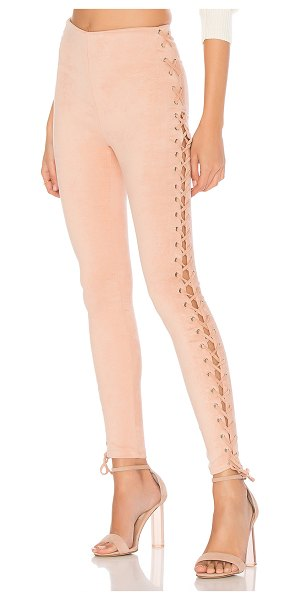 Lovers + Friends x REVOLVE Laced and Lovely Legging in blush