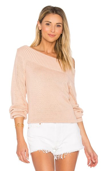 Lovers + Friends x REVOLVE Lucas Sweater in pink - Seeking a sweater to capture your heart? Search no...