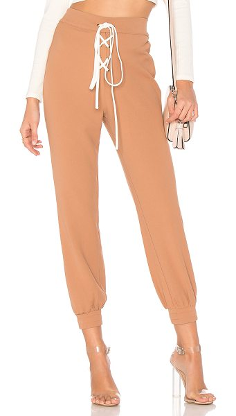 Lovers + Friends x REVOLVE Manny Joggers in taupe - A reinvented hero. Lovers + Friends x REVOLVE?s Manny...