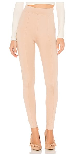 "Lovers + Friends x REVOLVE Sandy Legging in blush - ""Simplicity is key. Cut from stretch knit fabric, the..."
