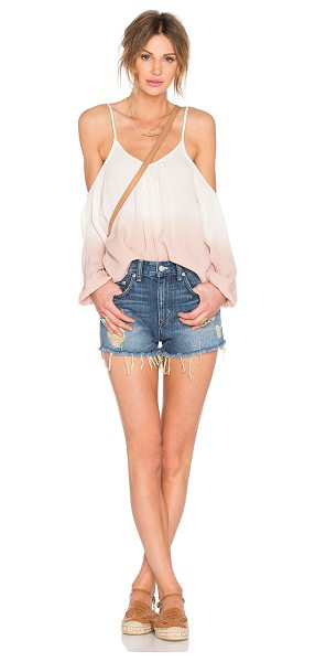 LOVERS + FRIENDS x REVOLVE Shyla Top - Poly blend. Shoulder cut-outs. Adjustable shoulder...