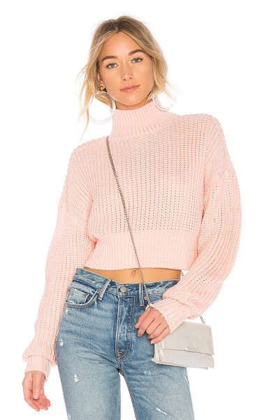 Lovers + Friends x REVOLVE Union Sweater in pink - Lovers + Friends x REVOLVE?s Union Sweater is the knit...