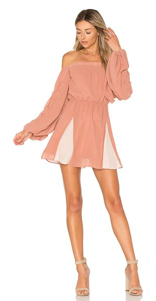 Lovers + Friends x REVOLVE Windblown Dress in rose & tulip - Romantic times reimagined with Lovers + Friends'...