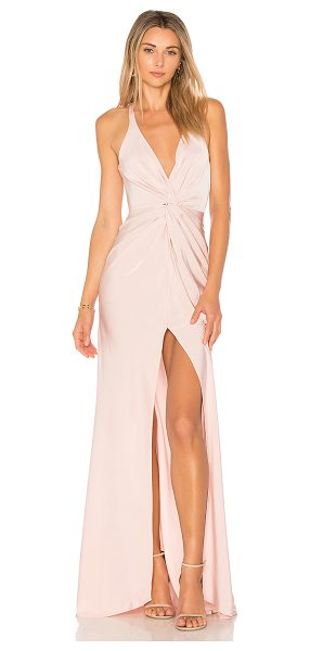 Lovers + Friends Xael Gown in blush - Stop 'em dead in their tracks by donning the Lovers &...