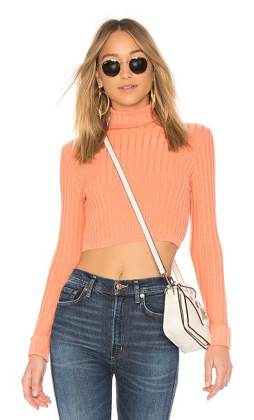 Lovers + Friends You Go Girl Sweater in coral - Lovers + Friends puts minimalism back on our radar with...