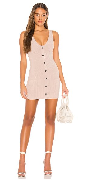 Lovers + Friends youth dress in taupe