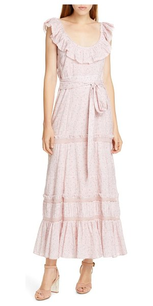 LoveShackFancy joanne maxi dress in pink