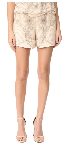 LOYD/FORD beaded shorts - Intricate beading brings glamorous, vintage-inspired...
