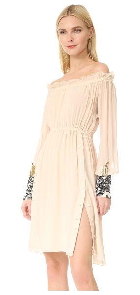 LOYD/FORD drop shoulder dress - An airy silk-chiffon Loyd/Ford dress with an alluring...