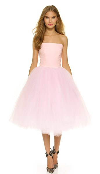 LOYD/FORD Strapless ballet dress - A ballet inspired Loyd/Ford dress with a slim, boned...