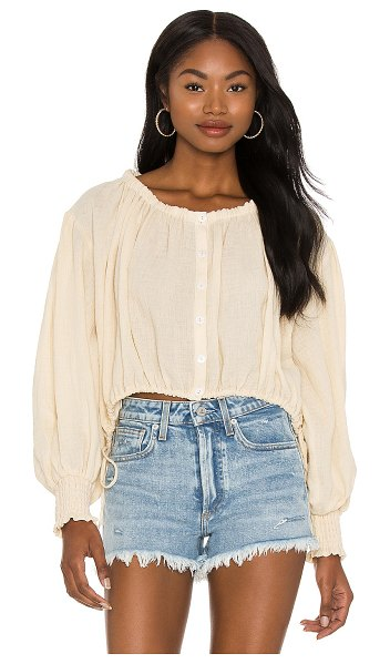 LPA addison top in cream