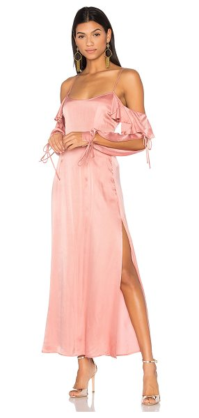 """LPA Dress 125 in rose - """"Forget the classic love story and opt for the reality...."""