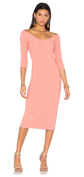 LPA Dress 130 in rose - Giving major Italian bombshell vibes - LPA dress 130...
