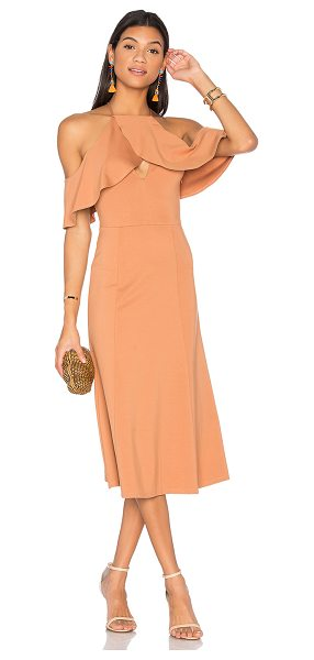 LPA Dress 161 in beige - Taking a cue from Bianca Jagger's jet-set style - Dress...