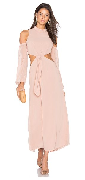LPA Dress 43 in peach - Dress 43 infuses vintage glam into the present-day....