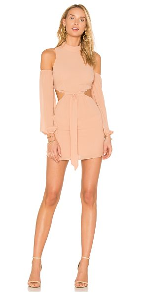 LPA Dress 514 in blush - Cue the compliments in Dress 514. A airy chiffon lends a...