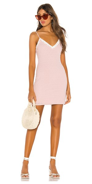 LPA grazia dress in baby pink