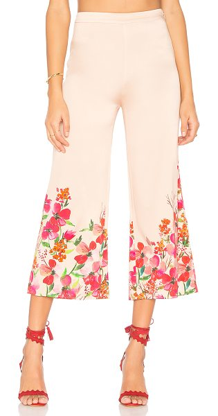 LPA Pants 195 in nude - Put on your party pants. A high-waisted, cropped fit...