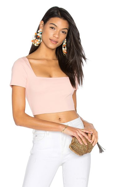 LPA Top 179 in pink - Accentuate your decolletage with Top 179. With a...