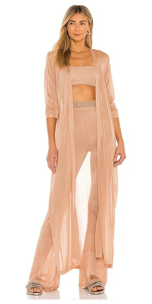 L*SPACE starlet duster in champagne